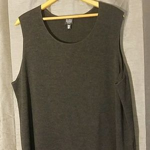 Plus Size Eileen Fisher Merino Wool Shell